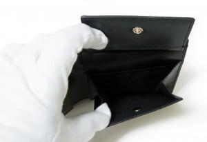 No.6 財布 リフレッシュストライププリント 二つ折