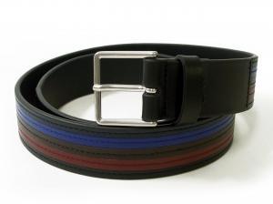 ポールスミス ベルト メンズ カラーバンド カーフレザー (ブラック) 94サイズ