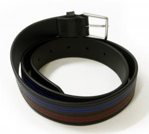 No.2 ベルト メンズ カラーバンド カーフレザー (ブラック) 94サイズ