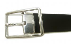 No.3 ベルト リバーシブル メンズ  ブラック マルチストライプ