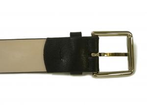 No.5 ベルト メンズ  ブラック マルチストライプトリム 94cm