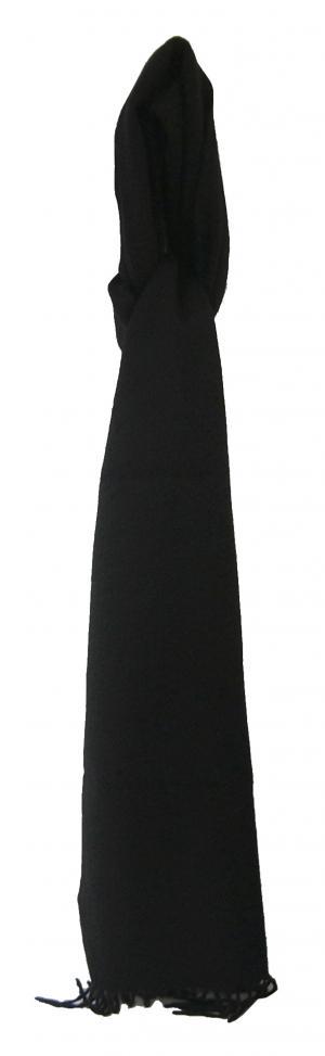 No.2 カシミヤマフラー (ブラック)