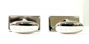 No.5 カフスボタン マルチストライプ カフリンク