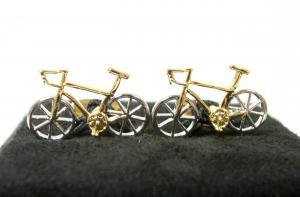 ポールスミス カフスボタン 自転車 レーサー カフリンク