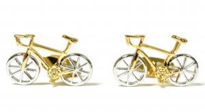 No.6 カフスボタン 自転車 レーサー カフリンク