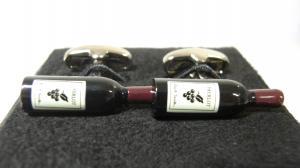 ポールスミス カフスボタン ワイン ボトル カフリンク