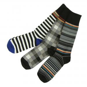 ポールスミス 靴下 ソックス メンズ おしゃれ Mixed Pattern Socks 3足 25-27cm