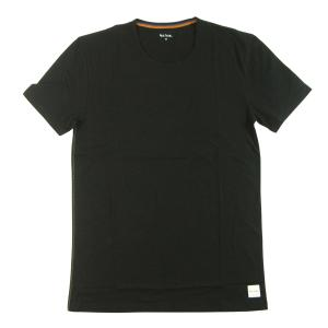 ポールスミス Tシャツ 半袖 メンズ ブラック クルーネック