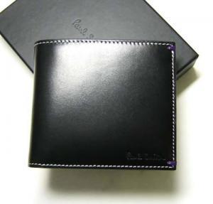 ポールスミス 二つ折財布(ブラック/ヌードガール) MainPhoto
