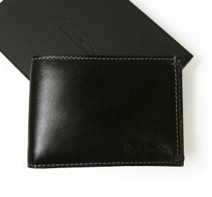No.3  <訳あり・アウトレット>カードケース(ブラック/ミニクーパー+ユニオンジャック)