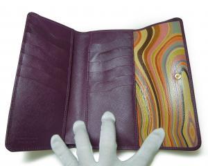 No.3 財布 レディース がま口  三つ折 長財布