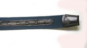 No.6 ベルト  メンズ カジュアル  グログランストライプ90cm