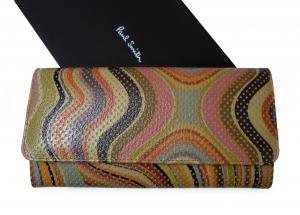 ポールスミス 財布 レディース 二つ折 長財布(マルチスワール)