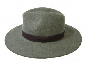 ポールスミス 帽子 レディース フェドーラ ハット 中折れ帽子 (グレー)