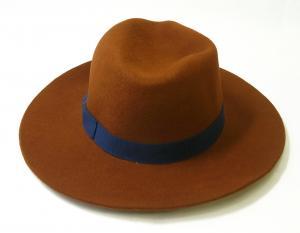 No.4 帽子 レディース フェドーラ ハット 中折れ帽子