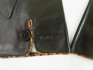 No.3 手袋 メンズ レザー グローブ (ブラック) Lサイズ