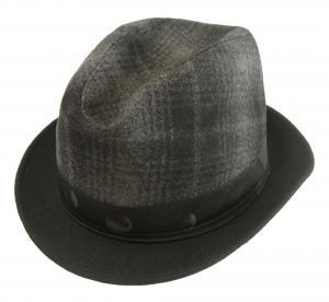 ポールスミス 帽子 中折れ帽 ハット (ブラック)