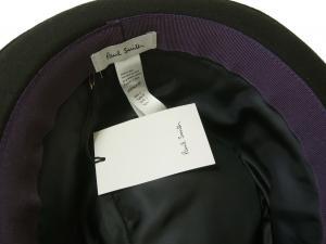 No.6 帽子 中折れ帽 ハット (ブラック)