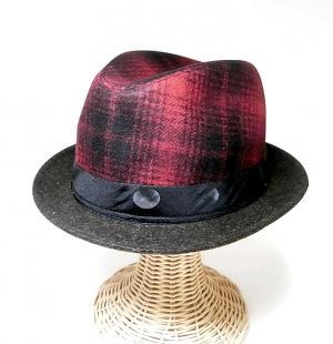 ポールスミス 帽子 中折れ帽子(レッド)) MainPhoto