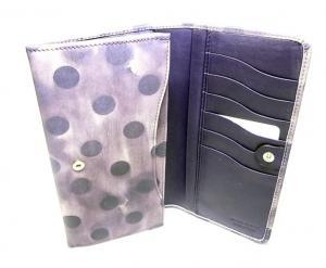 No.4 財布 レディース 二つ折 長財布