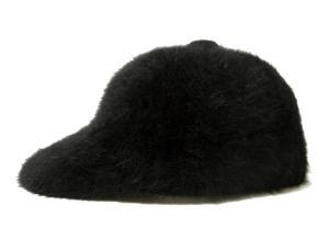 ポールスミス 帽子 キャップ フアー (ブラック) Lサイズ(約60.5cm)