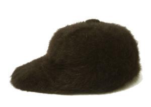 ポールスミス 帽子 キャップ フアー (ブラウン)