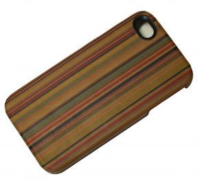 No.4 アイフォンケース iPhoneカバー(マルチストライプ)