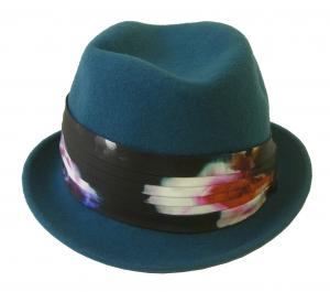 ポールスミス ハット 帽子 レディース 中折れ帽 (ブルー)