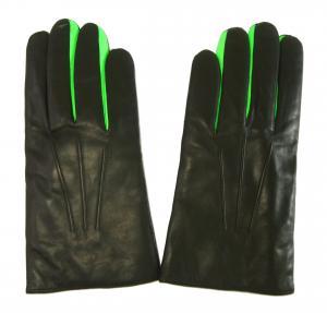 ポールスミス 手袋 メンズ レザーグローブ (ブラック)Lサイズ