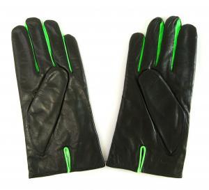 No.2 手袋 メンズ レザーグローブ (ブラック)Lサイズ