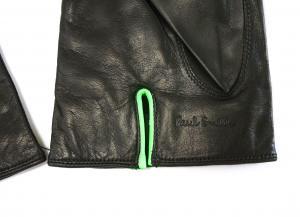 No.3 手袋 メンズ レザーグローブ (ブラック)Lサイズ
