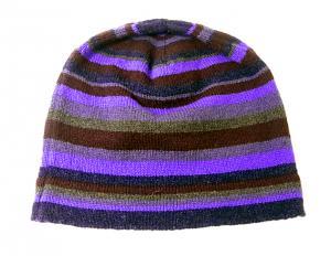 No.3 マフラー 手袋 帽子 セット メンズ ギフト (パープル)