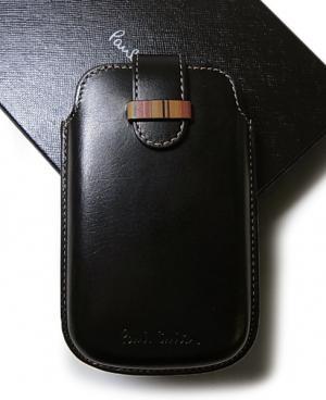 ポールスミス アイフォンケース iPhone・iPod カバー(ブラック)