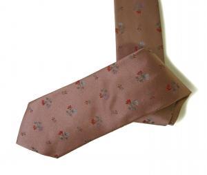 ポールスミス ネクタイ シルク 花柄 ピンク