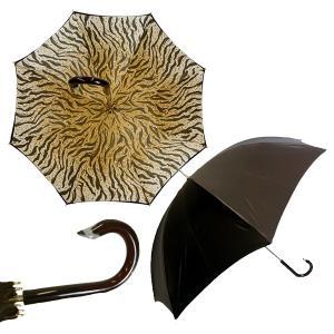 パソッティ 傘 かさ レディースアンブレラ ダークブラウン Style 189