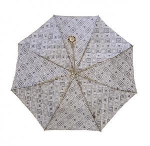 No.3 傘 折り畳み レディース 幾何学プリント Style 257