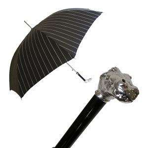 パソッティ メンズ 傘 かさ ブラック アリゲーター ハンドル Style 478 MainPhoto