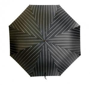 No.2 メンズ 傘 かさ ブラック アリゲーター ハンドル Style 478
