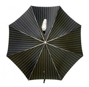 No.3 メンズ 傘 かさ ブラック アリゲーター ハンドル Style 478