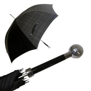 パソッティ かさ メンズ 傘 ブラック ゴルフボール ハンドル Style 478