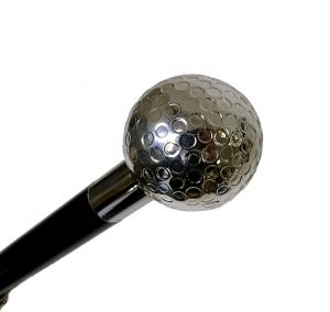 No.6 かさ メンズ 傘 ブラック ゴルフボール ハンドル Style 478