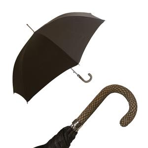 パソッティ メンズ 傘 かさ アンブレラ ダークブラウン Style 478