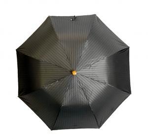 No.2 <訳あり・アウトレット>折り畳みかさ メンズアンブレラ 傘 ダークブラウン Style 64