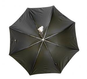 No.3 折り畳み傘 かさ メンズアンブレラ ブラック Style 64S