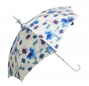 パソッティ 日傘 uvカット 長傘 パラソル 晴雨兼用 フラワー Style 354