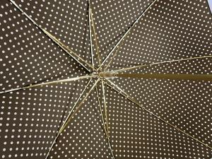 No.4 傘 かさ レディース ホワイトドット柄 Style 16