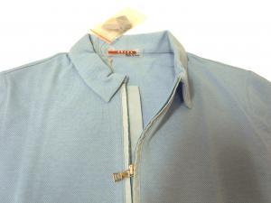 No.5 <アウトレット>ポロシャツ Tシャツ レディース プラダ スポーツ ブルー
