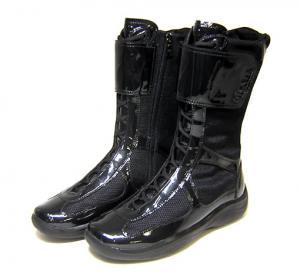 プラダ 靴  レディス  ブーツ 35.5(日本サイズ約22.5cm)