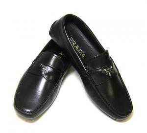 プラダ レザー シューズ 靴 メンズ (ブラック) 6(日本サイズ約25cm) MainPhoto
