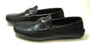 No.3 レザー シューズ 靴 メンズ (ブラック) 6(日本サイズ約25cm)